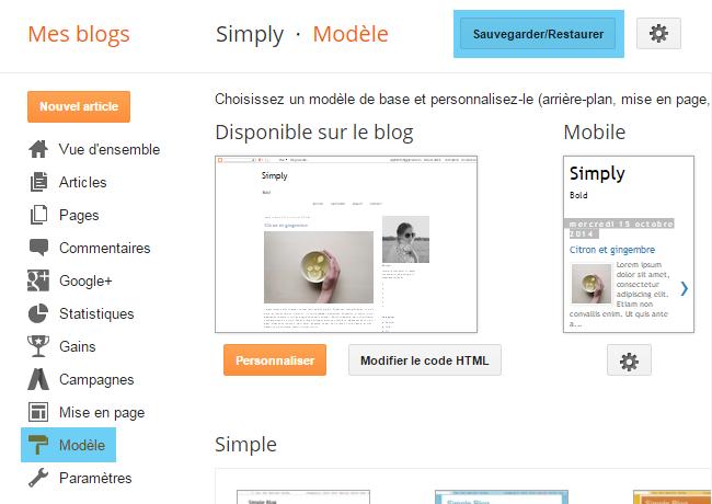 Personnaliser l'apparence et ajouter une image aux titres des articles Blogger