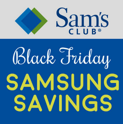 Sam's Club Black Friday Samsung Savings