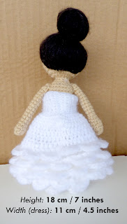 Crochet Bride Doll