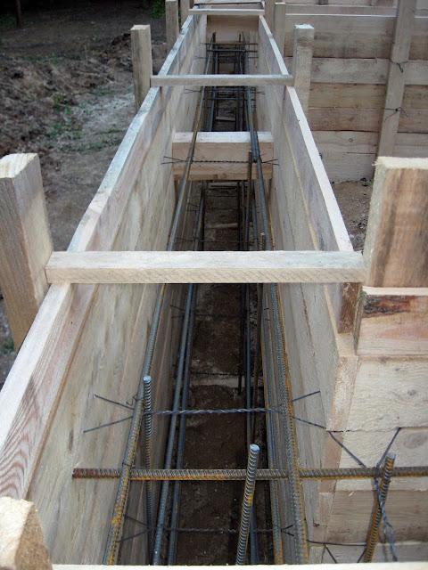 строительство дома опалубка