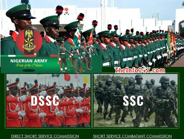 How To Apply For Nigerian Army DSSC & SSC Nationwide Recruitment
