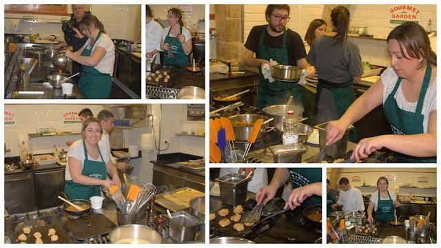 fotografías evento gourmet garden