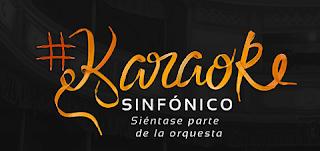 App Karaoke Sinfónico