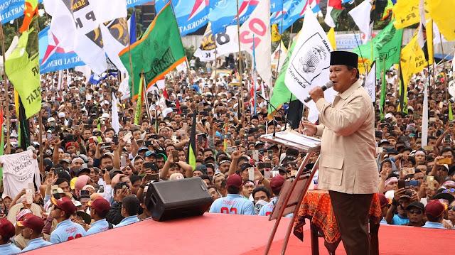 2 Pesan Penting Ramainya Kampanye Prabowo Di Kandang Jokowi