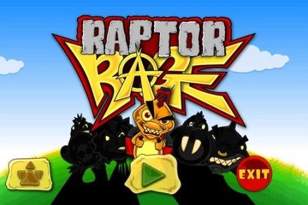 تحميل اللعبة الحصرية Raptor Rage