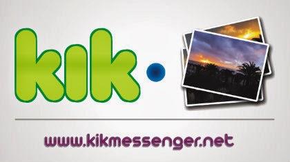 Como guardar las fotos o imágenes que recibes en Kik Messenger