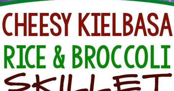 Cheesy Kielbasa, Rice And Broccoli Skillet - Cucina De Yung-4702