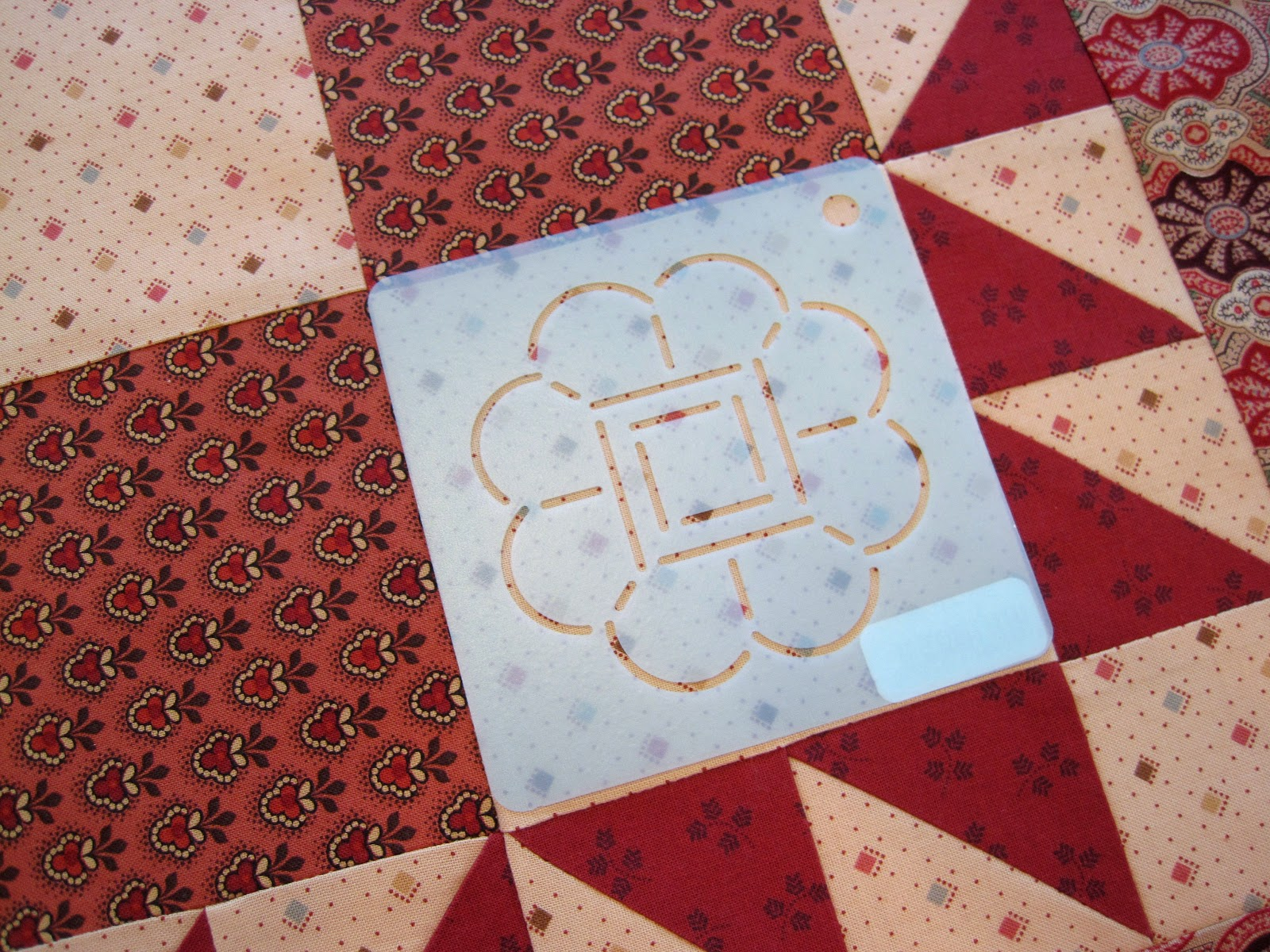 Quilting With Stencils : A Sentimental Quilter: Quilting with Stencils