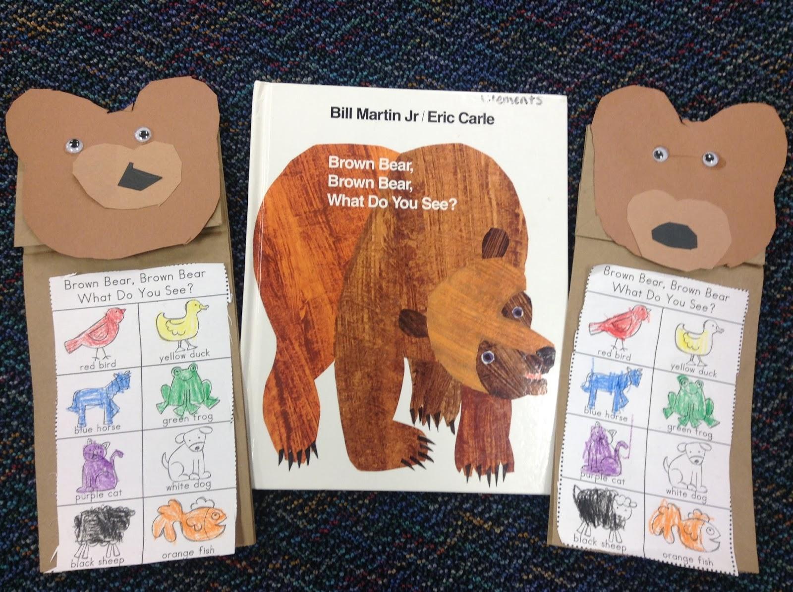Dr. Clements' Kindergarten : Kindergarten: Brown Bear