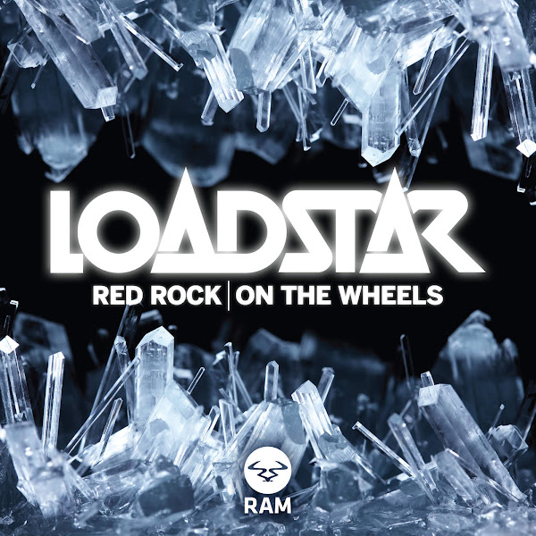 Loadstar - Red Rock / On the Wheels - Single Cover