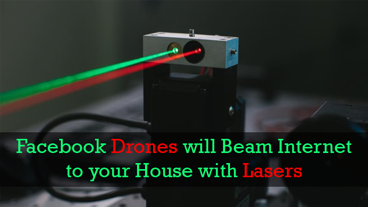 These Laser Beams Will Offer Free Internet to the World from the Sky