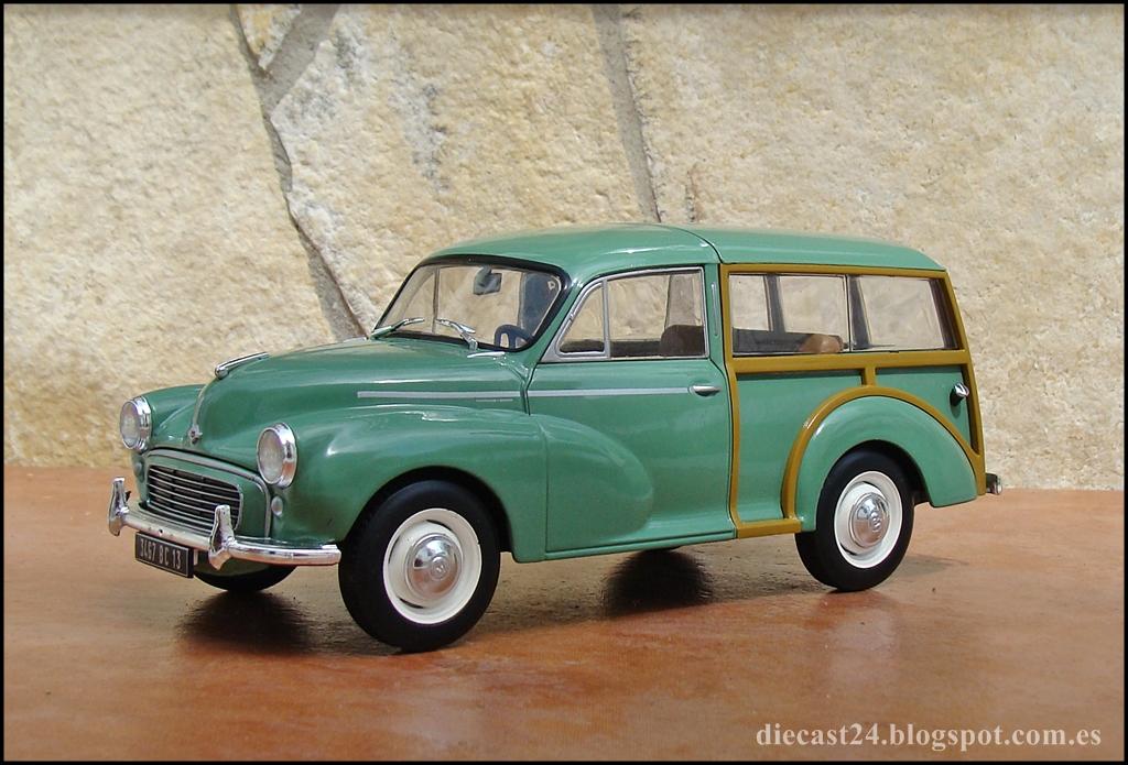 1 24 miniaturas morris minor 1000 traveller 1 24 entrega 16 auto vintage de luxe collection. Black Bedroom Furniture Sets. Home Design Ideas