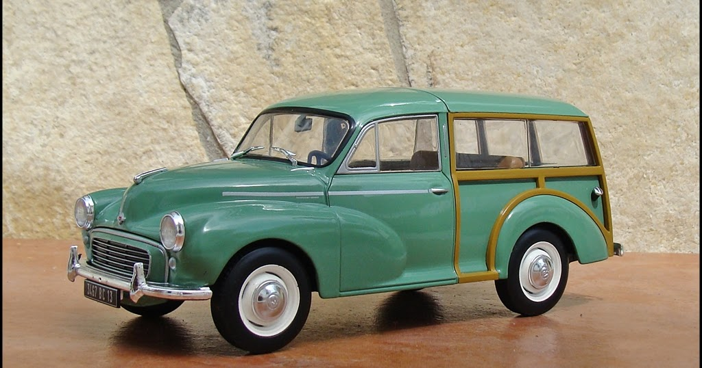 1 24 miniaturas morris minor 1000 traveller 1 24 entrega 16 auto vintage de luxe collection. Black Bedroom Furniture Sets. Home Design Ideas