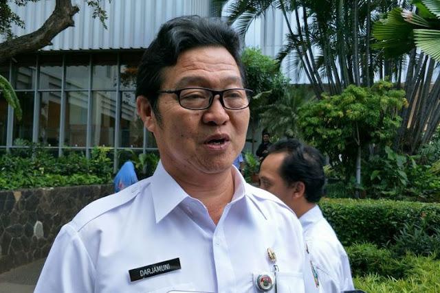 Kepala Dinas Ketahanan Pangan, Kelautan, dan Pertanian (DKPKP) DKI Jakarta Darjamuni.