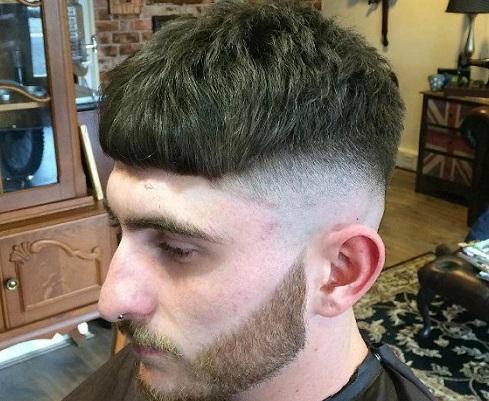 Potongan Rambut Pria Lonjong