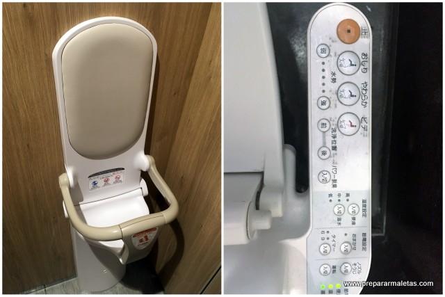 baños futuristas japoneses