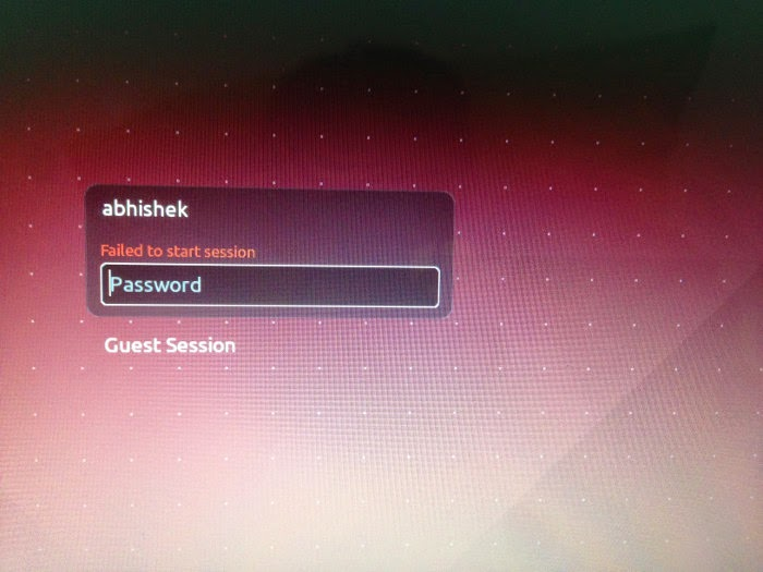 [SOLVED] Failed start to start session in Ubuntu 14.04