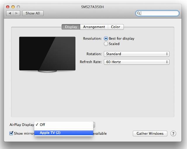 AirPlay on Mac