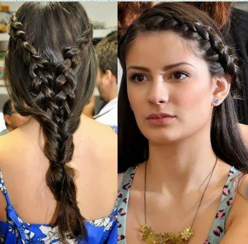 Stupendous Cute And Stylish Hairstyles 2014 For Girls Funpulp Short Hairstyles Gunalazisus
