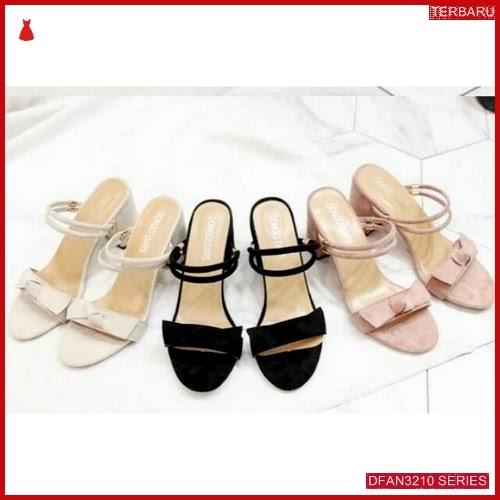 DFAN3210S28 Sepatu Rh 01 Hils Wanita Hak Tahu BMGShop