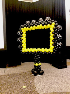 Photo Booth frame station with Balloon photo frame