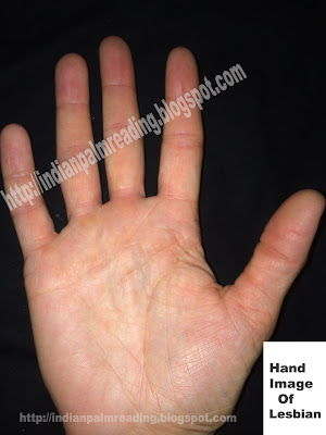 Soft hand with supple and weak thumb and slopping head line towards mount of moon (head line tie with life line) indicates masturbation and homosexuality.