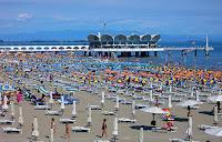 pláže Lignano
