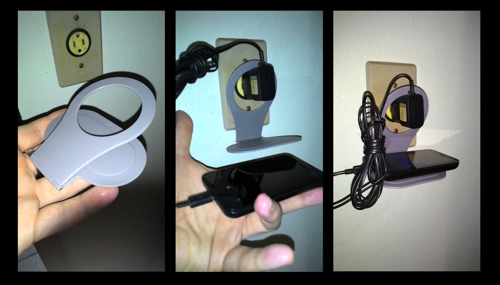 suporte tomada recarregar celular