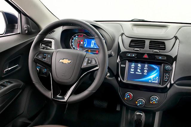Chevrolet Cobalt 2017 - interior - painel