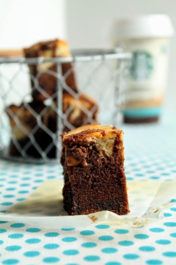 Brownie de cappuccino
