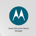Download Latest Motorola Device Manager Setup for Windows (32/64 bits)