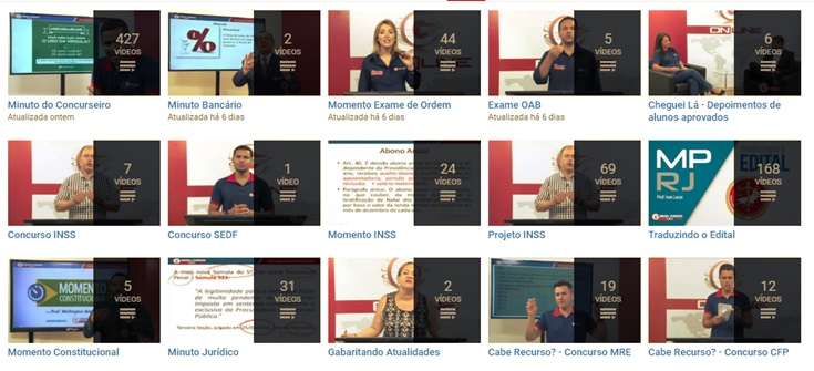 Gran Cursos Online - Concursos Públicos e OAB