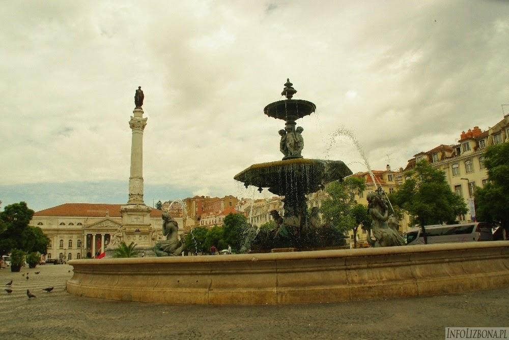 Lizbona Lisbona Polski Przewodnik Lokalny Przewodnik Baixa Fotografie Zdjęcia