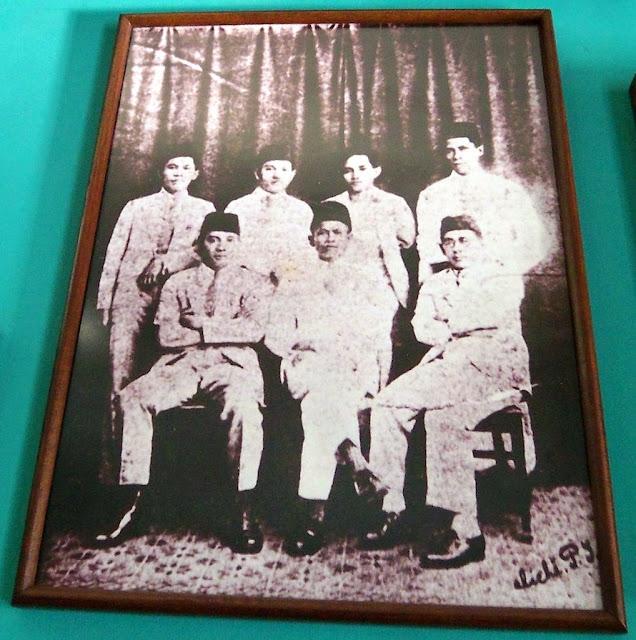 Foto para pendiri PNI yang merupakan arsip dari gedung Museum Sumpah Pemuda.