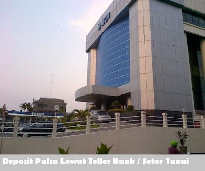 Cara Deposit Pulsa Lewat Teller Bank / Setor Tunai