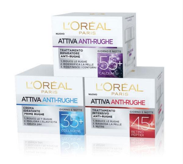 Anti-Rughe L'Oréal Attiva