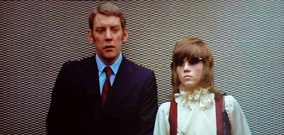 Image result for SUTHERLAND AND FONDA IN KLUTE