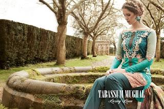 Tabassum Mughal Luxury Lawn 2017