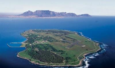 Isla de Robben en Sudafrica