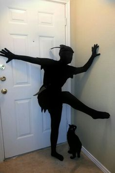 Peter Pan shadow Halloween costume