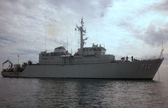 KRI Pulau Rupat-712 kapal penyapu ranjau TNI AL