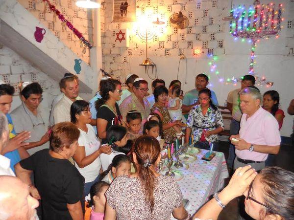 Jánuca en la comunidad judía de Iquitos