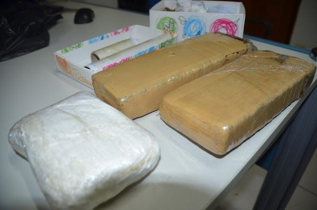 Cadeirante e dois adolescentes são detidos com drogas em Cacoal