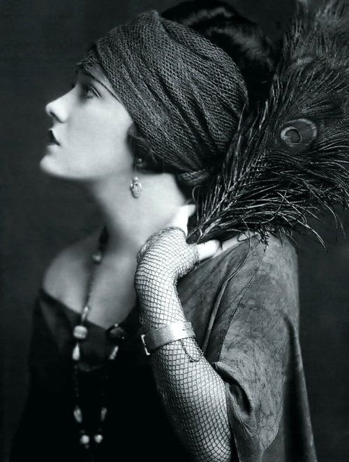 coiffure turban dans les années 20
