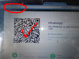 barcode whatsapp web