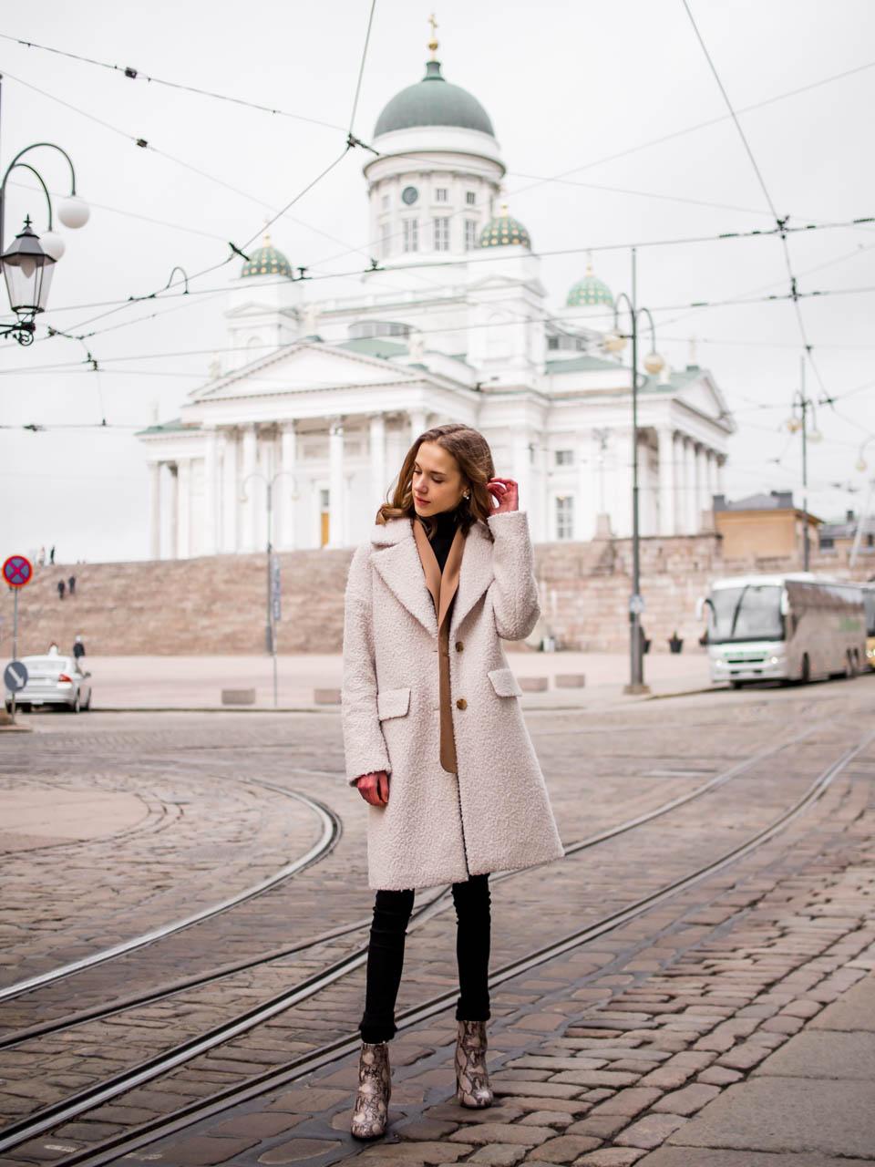 Fashion blogger winter outfit, Helsinki, Finland - Muotibloggaaja Helsinki, talviasu