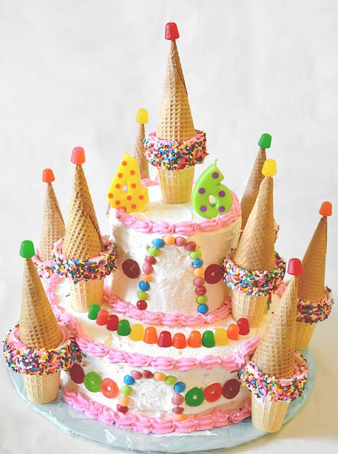 Easy Candyland Cake
