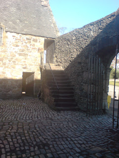 Provan Hall courtyard