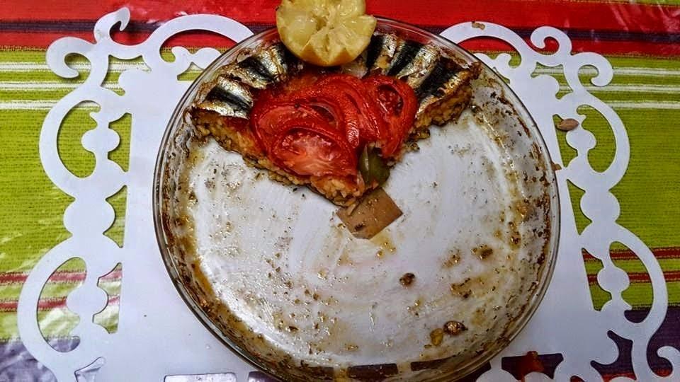 وصفة الارز بالسمك