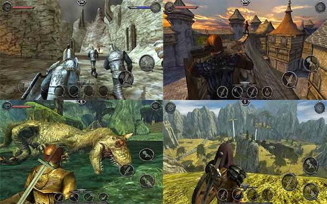 Ravensword: Shadowlands 3d RPG MOD APK Gratis Full Version Unlimited Gold